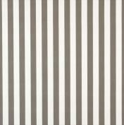 Designer Fabrics B486 140cm . Wide Grey Striped Indoor & Outdoor Marine Scotchgard Upholstery Fabric