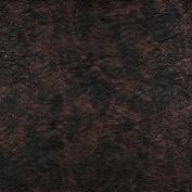 Designer Fabrics G385 140cm . Wide Bronze Metallic Leather Grain Upholstery Faux Leather
