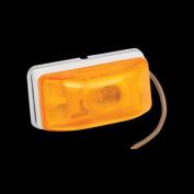 BARGMAN 203233 Side Marker Light Amber White Base