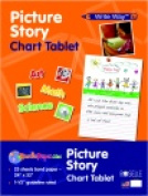 Write Way 60cm x 80cm . Roselle Picture Story Chart Tablet 25 Sheets