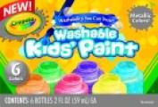 . Non-Toxic Washable Metallic Paint Set - Assorted Colour Set - 10