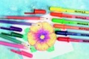 Sakura 1 mm. Bold Tip Gelly Roll Moonlight Non-Toxic Permanent Waterproof Pen Pack 10