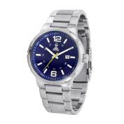 NobelWatchCo EZ 625 GU Royal Blue Stainless Watch