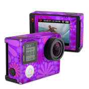 DecalGirl GPH4S-PUNCH-PRP GoPro Hero4 Silver Skin - Purple Punch