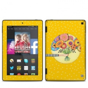 DecalGirl AKHD7-GIVING Amazon Kindle Fire HD 18cm 2014 Skin - Giving
