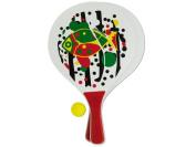 Bulk Buys OD858-8 Paddle Ball Game Set