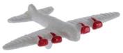 Dollhouse Miniature Toy Aeroplane