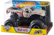 Hot Wheels Monster Jam Mega Bite Die-Cast Vehicle, 1:24 Scale