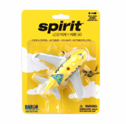Daron Spirit Airlines Pullback Plane with Lights & Sound