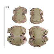 SWAT elbow knee protector to HATCH (hatch) Type XTAK elbow pads and kneepads set replica Multicam CP camouflage colour survival game!