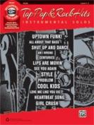 Alfred Top Pop & Rock Hits Instrumental Solos for Strings- Violin-Book & CD