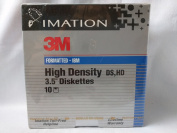 Imation 3M Formatted High Density 8.9cm Diskettes 1.44 MB