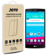 LG G4 Tempered Glass Screen Protector - JOTO LG G4 Premium Tempered Glass Screen Protector Film Guard, [ 0.33 mm / Rounded Edge / Super Crystal Clear ], Real Glass Screen Protector for LG G4 (2015)
