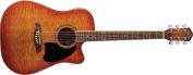 Oscar Schmidt OG2CEFYS Dreadnought Acoustic Electric Guitar