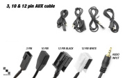 Bimmian AIBAAAP3Y MP3 Audio USB And Aux Input Cables 150cm . 3 Pin Cable