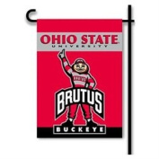 BSI Products 83355 Ohio State Brutus 2-Sided Garden Flag