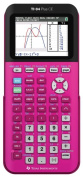 Texas Instruments 84PLCE-TBL-1L1-D TI-84 Plus CE Graphing Calculator Positively Pink