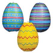 Beistle 40553 Easter Egg Paper Lanterns Pack Of 6