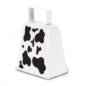 Beistle Company 60946 Cow Print Cowbell - Pack of 12