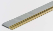 M-d Products 69652 36 Door Sweep with Vinyl Seal - Gold