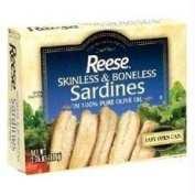 Reese B80463 Reese Plain Sardines In Olive Oil -10x130ml