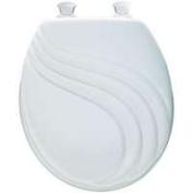 Bemis 27EC-000 Toilet Seat Round Swirl White