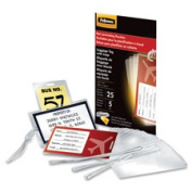 Fellowes FEL52034 Laminating PouchesLgge.Tag with Loop2.60cm . x 11cm .50-PKCL
