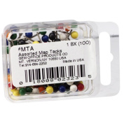Gem Office Products Round Head Map Tacks