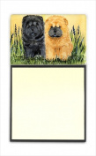 Carolines Treasures SS7006SN Chow Chow Refiillable Sticky Note Holder or Postit Note Dispenser 7.6cm x 7.6cm .