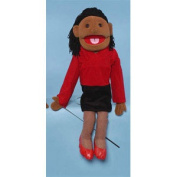 Sunny Toys GS4401B 70cm . Ethnic Mom In Red Dress Full Body Puppet
