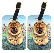 Carolines Treasures 7020BT Chow Chow Luggage Tags Pack - 2