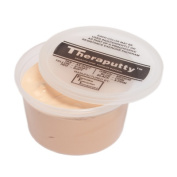 Fabrication Enterprises 10-0994 Cando Theraputty Exercise Material Tan - Xx-Soft