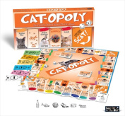 Late for the Sky CAT Cat-Opoly Board Game
