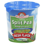 Dr. McDougalls Split Pea With Barley Big Cup Soup & amp;#44; 70ml & amp;#44; - Pack of 6