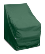 KoverRoos 69812 Weathermax High Back Lounge Chair Cover Forest Green - 32 W x 33 D x 40 H in.