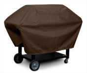 KoverRoos 93062 Weathermax Medium Barbecue Cover Chocolate - 23 D x 53 W x 35 H in.