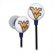 Zeikos West Virginia Mountaineers Ear Buds