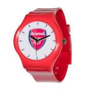 Arsenal AR38-R Soccer Club Slimline Souvenir Watch Red