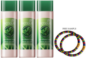 """Biotique Fresh Texture Shampoo & Conditioner with Colour - Henna Leaf-120ml - (Pack of 3) - """"Free Expedited Shipping via DHL Express"""" - Delivery in 3-7 days - with Free Product Sample"""
