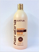 Kativa Keratina Shampoo Nutrition 500 ml.
