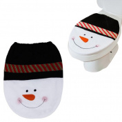 Vovotrade® 2015 Christmas. Snowman Toilet Seat Cover Christmas Decoration
