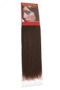Yaki Weave Brownest Brown (2) 25cm | Relaxed Hair Extensions | Human Hair Extensions | 25cm American Pride 2