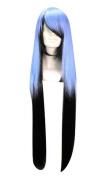 Etruke Long Straight Multicolor Oikawa Tsurara Cosplay Wigs