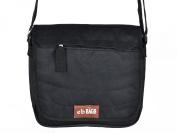 Canvas bag messenger bag men's bag shoulder bag - Black
