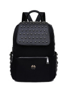 Keshi Women's Vintage Style Unisex Fashion Casual School Travel Laptop Backpack Rucksack Daypack Tablet Bags Canvas