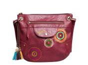 Desigual BOLS Brooklyn Menorca Audrey Shoulder Bag 57X50X9 3073