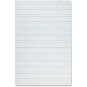 Primary Chart Pad, 2.5cm Short Rule, 24 x 36, White, 100 Sheets/Pad