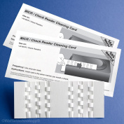 Kic Team-Waffletechnology MICR / Cheque Reader Cleaning Card, 15/Box