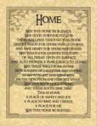 AzureGreen EPHOMB Home Blessing Poster