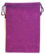 AzureGreen RV57PU 13cm . x 18cm . Bag Velveteen - Purple
